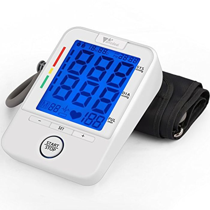 50% off Arm Blood Pressure Monitor! FREE DELIVERY