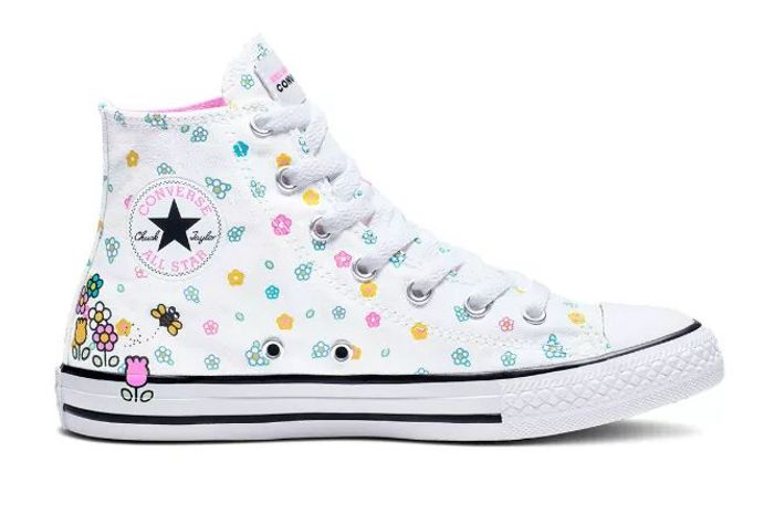 'Small sizes' Converse Hello Kitty Chuck Taylor All Star High-Top - 60% Off