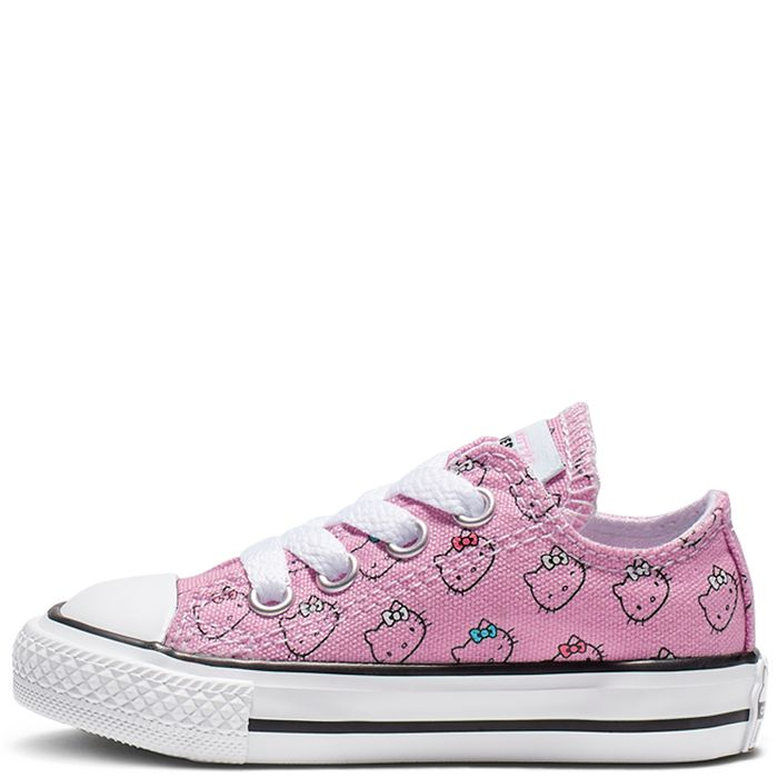 'Small childrens sizes' Converse X Hello Kitty Chuck Taylor All Star Low-Top