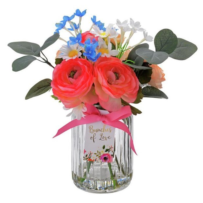 Argos Home Faux Flower in Vase - Save £5.50