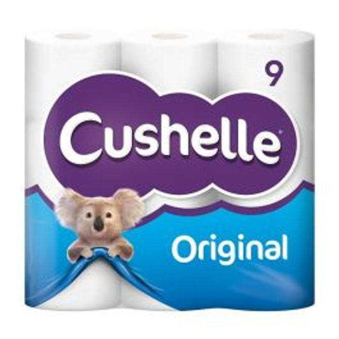 Original Cushelle 9 Pack ONLY £1