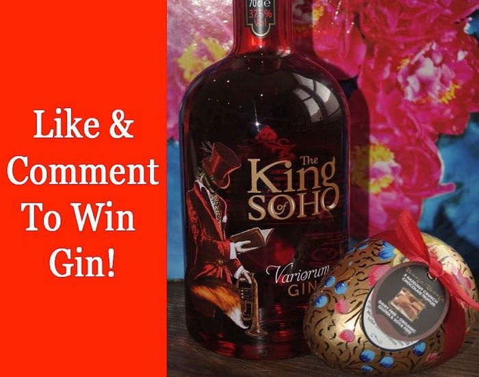 Win Bottle of the King of Soho Variorum Pink Gin