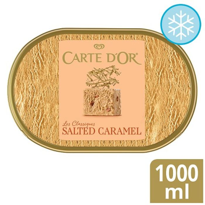 Carte D'or Ice Cream Dessert 1000Ml ALL 7 VARIETIES