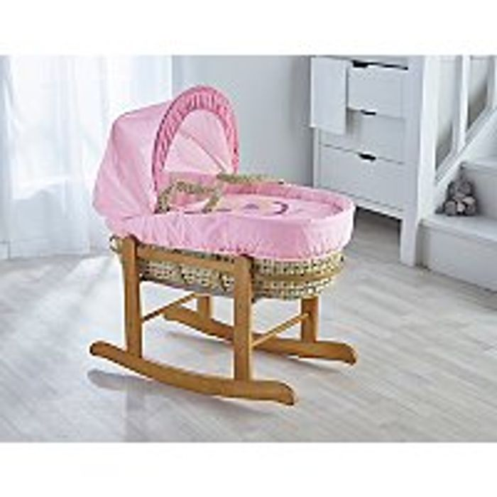 Moses Basket - Pink - Asda Early Bird Baby Event
