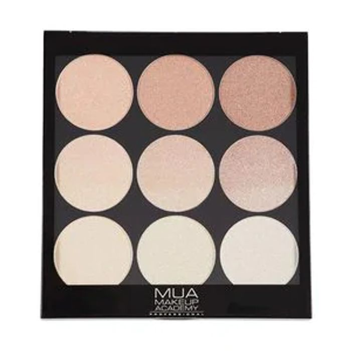 MUA Gradient Light Palette Golden Glow 001