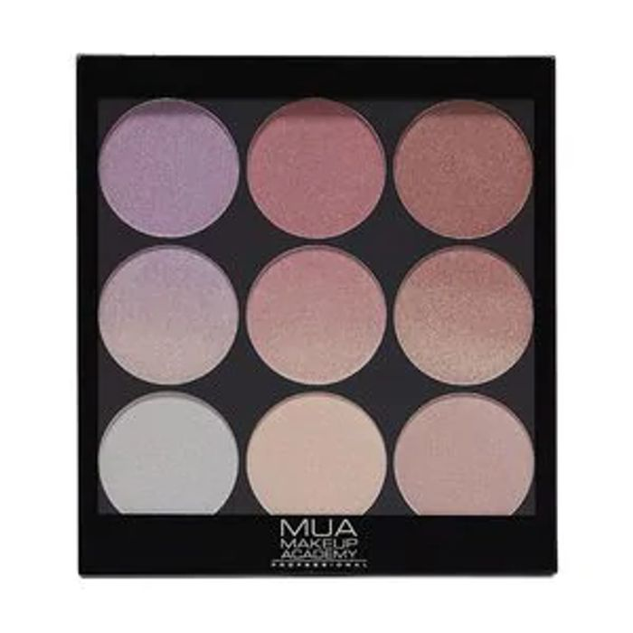 MUA Gradient Light Palette Glimmering Gemstones 003