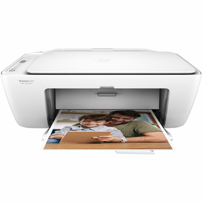 HP DeskJet 2622 Inkjet Printer - White