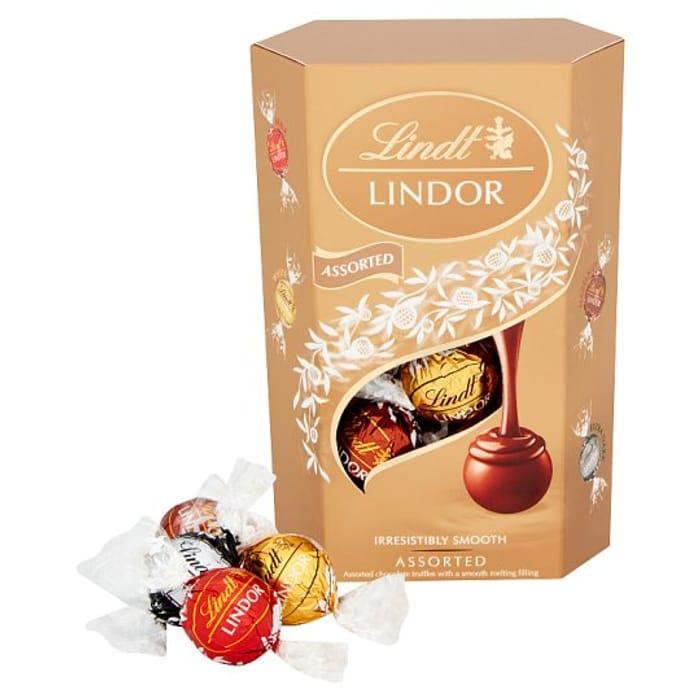 Lindt Lindor Assorted Chocolate Truffles 200g Cashback Via