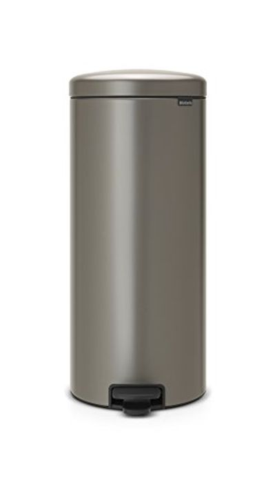 Ends Midnight! Brabantia Pedal Bin newIcon with Plastic Inner Bucket