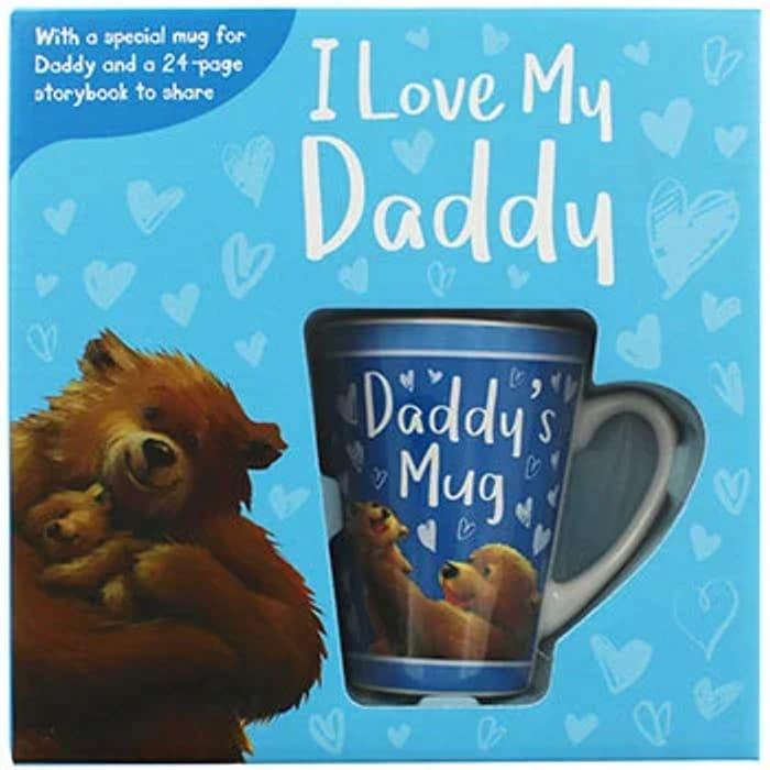 I Love My Daddy - Book and Mug Gift Set