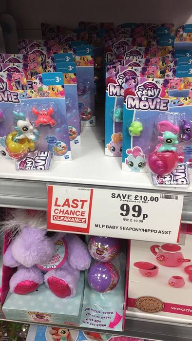 My Little Pony Sets - Was £10.99 Now 99p - Instore Liverpool
