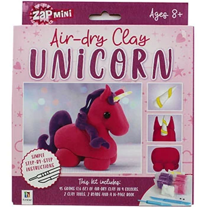 Zap Mini - Air-Dry Clay Unicorn