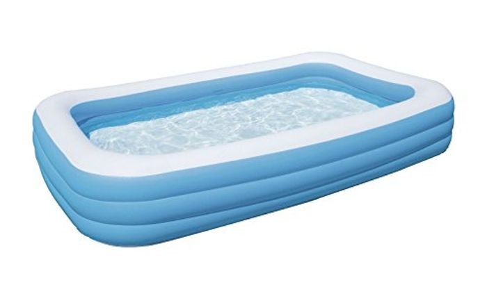 Bestway Deluxe Rectangular Inflatable Paddling Pool