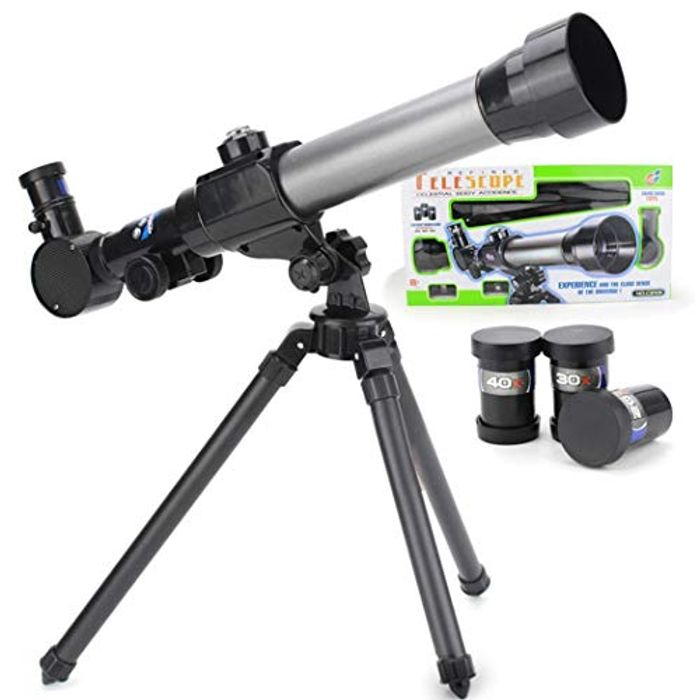 Bargain Telescope with Rotating Stand
