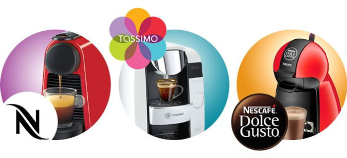 3 for £10 Tassimo & Dolce Gusto Pods Deal