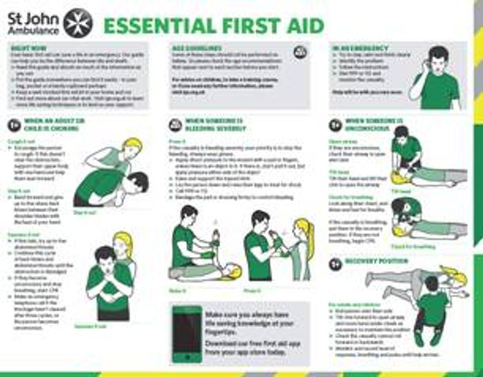 Essential First Aid Handy Booklet