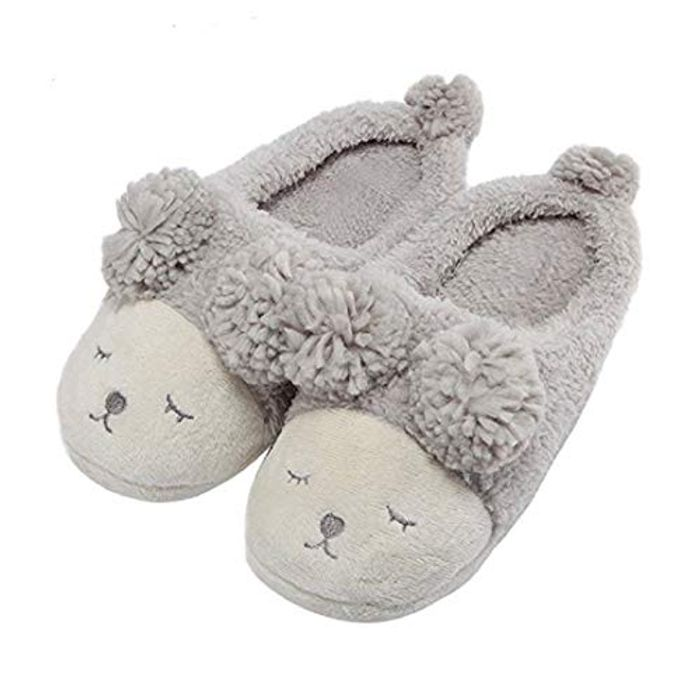 Cute and Cosy Sheep Design Slippers