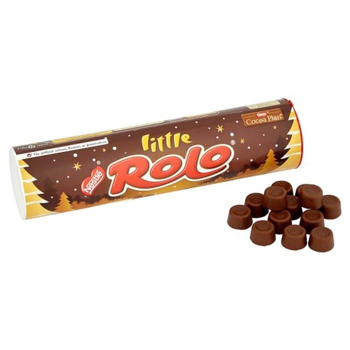 Nestle Little Rolo Tube 100g