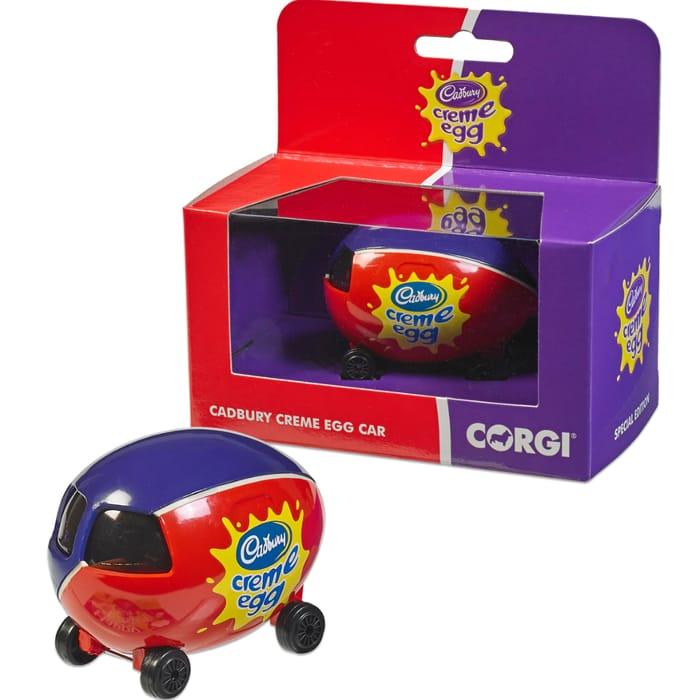 Cadbury Creme Egg Limited Edition Corgi Car