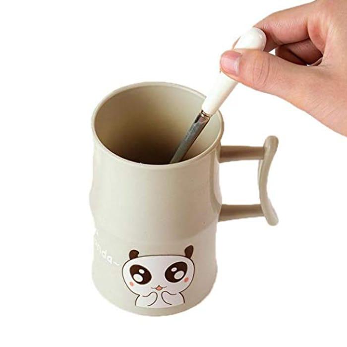 Animal Print Brushing Cup Water Coffee Milk