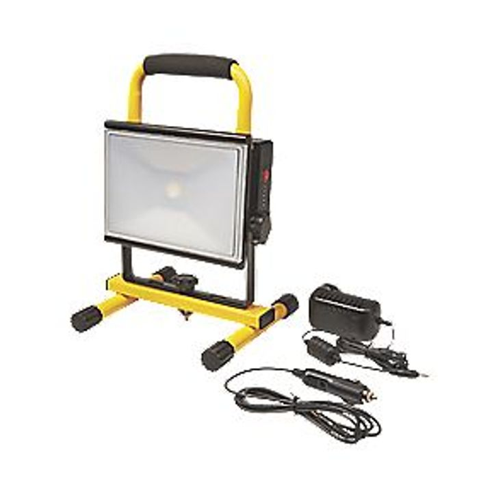Diall Led Rechargeable Led Work Light 23w 12 / 240v - Save £6