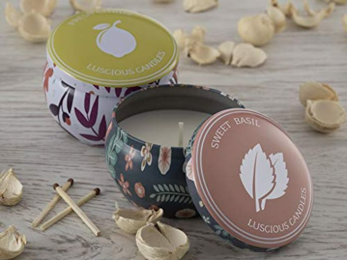 Luscious Candles Scented Candle Gift Set (2-Pack) - 62% Off