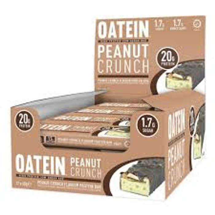 Box of 12x60g Peanut Crunch Oatein Bars
