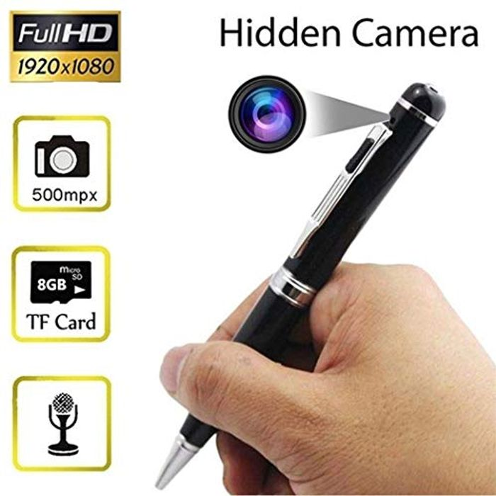 Hidden Camera Spy Pen