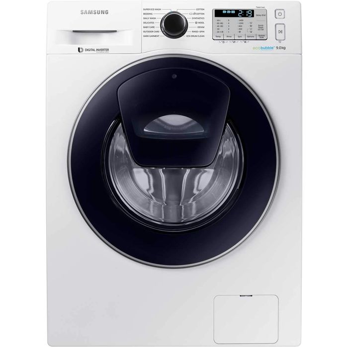 SAVE £190. Samsung AddWash Ecobubble 9Kg Washing Machine WW90K5413UW