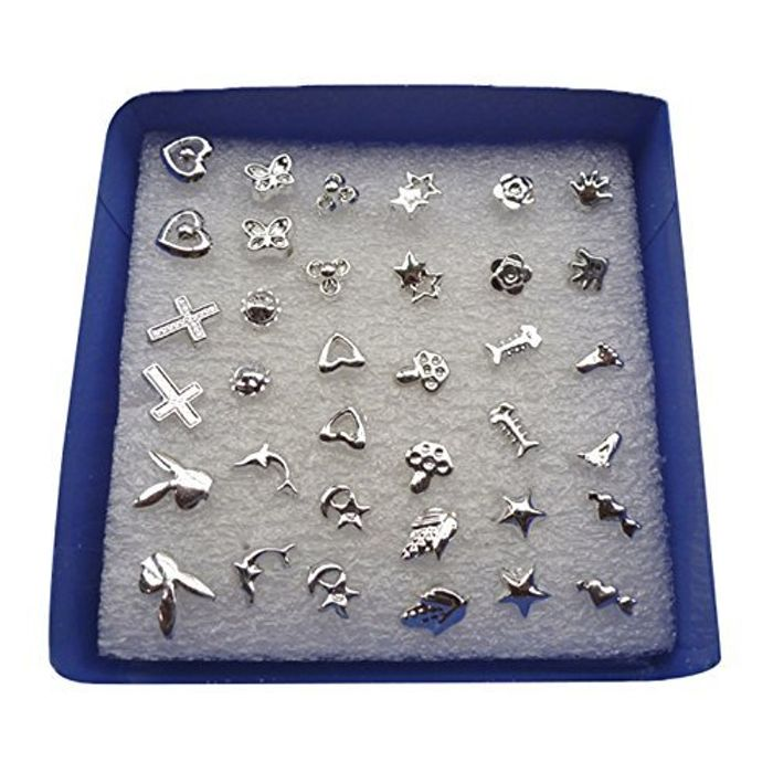 24 Pairs Stud Earrings FREE DELIVERY