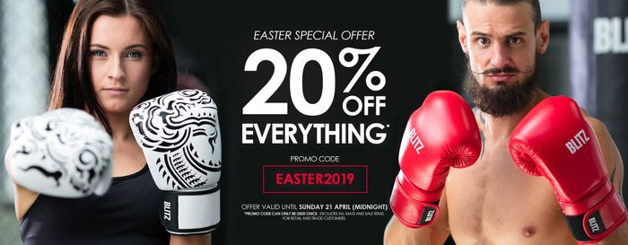 20% off Everything at Blitz