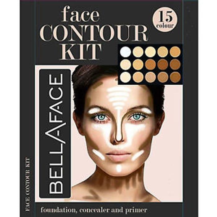 15 Shades Colour Concealer Contour Makeup Palette Kit Make up Set, Palette