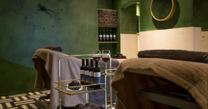 Win a Wine Spa Treatment