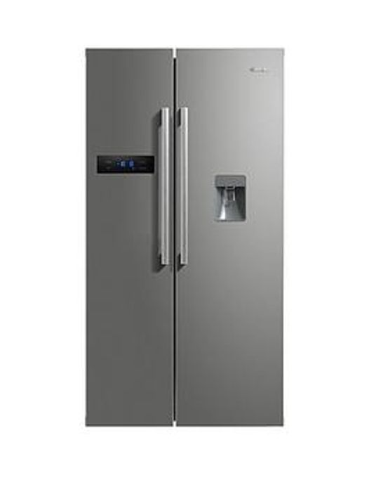Swan American-Style Double Door Frost-Free Fridge Freezer with Water Dispenser
