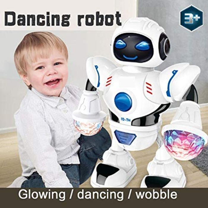 Cool LED Dancing Smart Robot - Save 80%