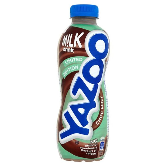 Yazoo Mint Chocolate Limited Edition Milkshake 400Ml