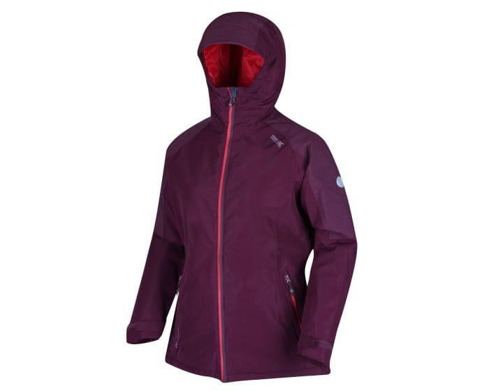 Regatta Womens Garforth Jackets Waterproof Insulated Fig - save 50%