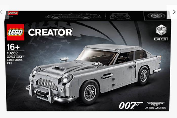 LEGO James Bond Aston Martin and LEGO Race Plane Bundle Only £109.99