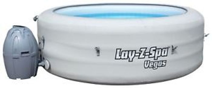 Details about Bestway Lay-Z-Spa Vegas 6 Person Inflatable Heated round Hot Tub