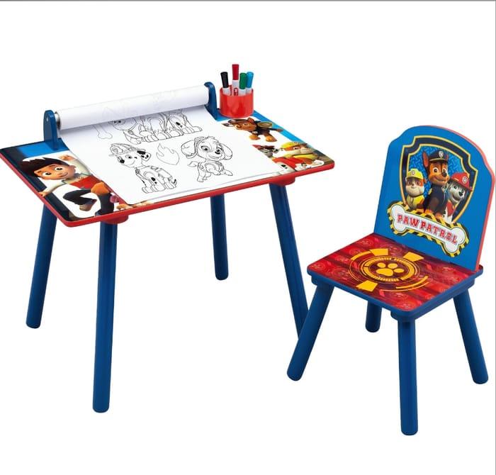 Paw Patrol Activity Desk & Chair Discount
