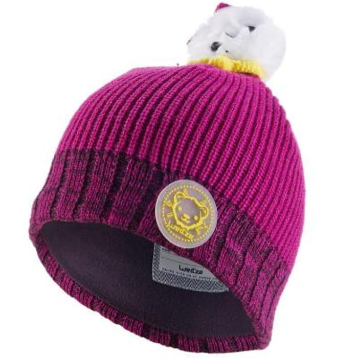 Wed'ze Bear Peruvian Hat
