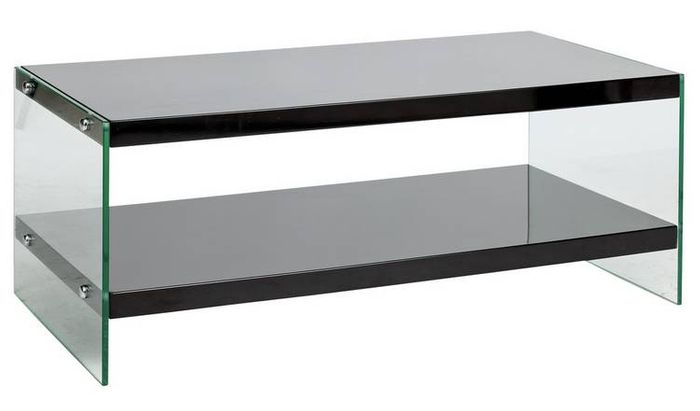 Amazing Argos Home Kaspa Coffee Table Black Gloss Glass Only Home Interior And Landscaping Ferensignezvosmurscom
