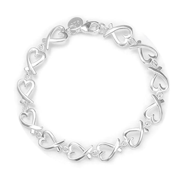 Bargain Silver Bracelet. Free Prime Delivery.