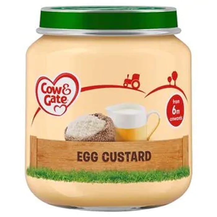 Egg Custard Jar 125g