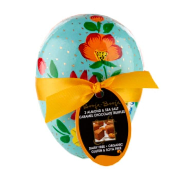 Booja Booja Almond Sea Salt Caramel Chocolate Truffles Egg