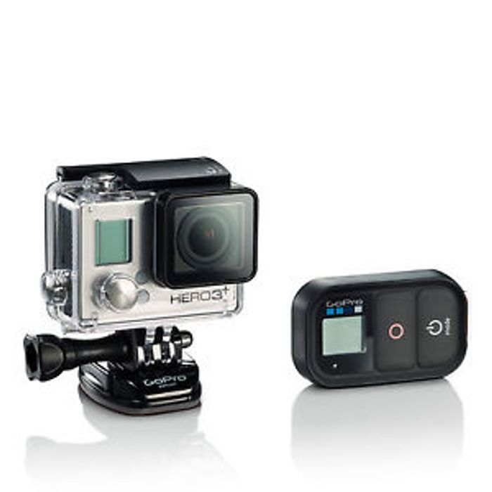 Details about GoPro HERO 3+ Black Action + WiFi Remote Certified Refurbished