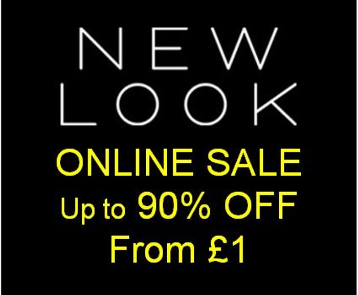 NEW LOOK - ONLINE SALE - up to 90% off