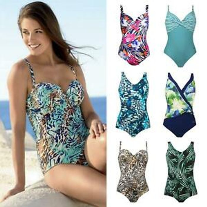 Details about Naturana Control Swimsuits Sizes 8 to 50 Womens