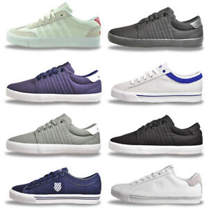 Details about K Swiss Mens Classic Heritage Fashion Lifestyle Trainers £17.99