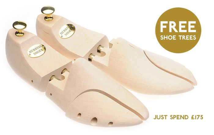 Free Shoe Trees Offer worth 29.95 GBP